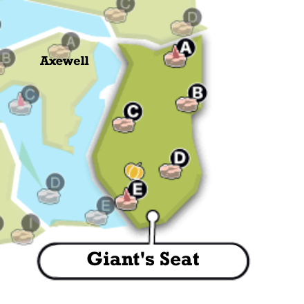 Giant\'s Seat Map and Obtainable Pokemon | Pokemon Sword and ...