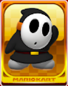 Black Shy Guy