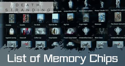 Memory Chips List