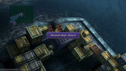 FFX Magic Sphere hidden item