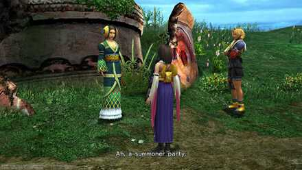 FFX Belgemine Aeon Battle Seeker