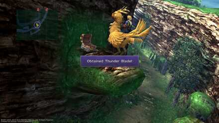 FFX Thunder Blade Chocobo jump