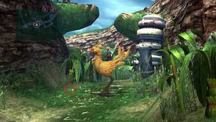 ffx thunder blade and scout  Chocobo jump