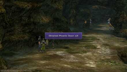 FFX Mushroom Rock Road Obtainable item list image guide