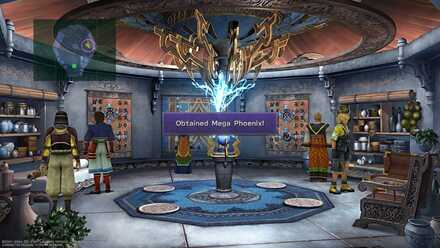 FFX Mega Phoenix Obtainable Items Djose Temple