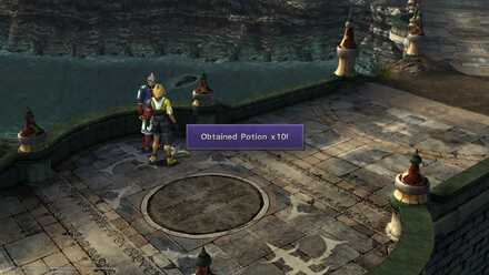 FFX Items Obtained From NPCs in Djose Temple