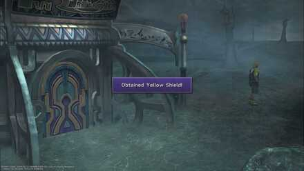 FFX Yellow Shield Obtainable items Thunderplains