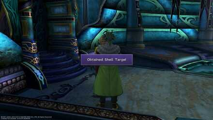 FFX Final Fantasy X Obtainable Items Shell Targe