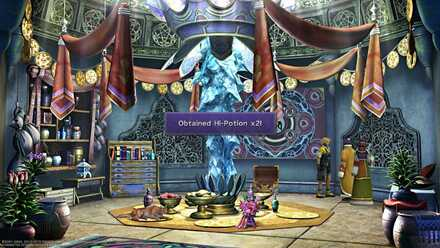 FFX Final Fantasy X Obtainable Items Hi-Potion X2