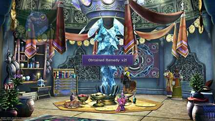 FFX Final Fantasy X Obtainable Items Remedy x2
