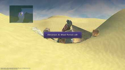 FFX Final Fantasy X Obtainable Items Bikanel Island Al Bhed Potion x8