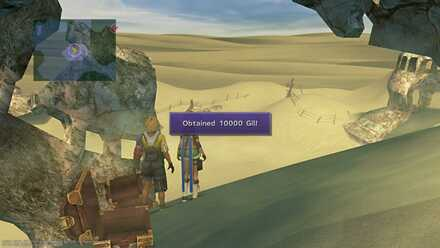 FFX Final Fantasy X Obtainable Items Bikanel Island 10000 Gil
