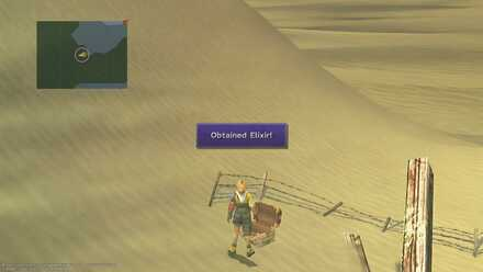 FFX Final Fantasy X Obtainable Items Bikanel Island Elixir
