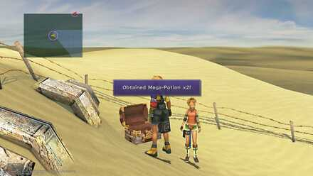 FFX Final Fantasy X Obtainable Items Bikanel Island Mega-Potion x2