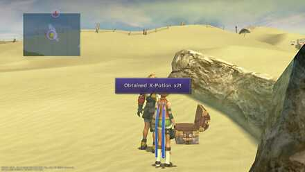 FFX Final Fantasy X Obtainable Items Bikanel Island X-Potoin X2