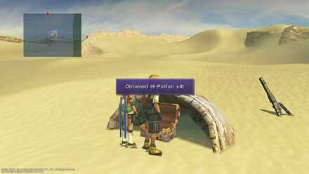 FFX Final Fantasy X Obtainable Items Bikanel Island X-Potion x4
