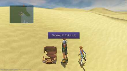 FFX Final Fantasy X Obtainable Items Bikanel Island X-Potion x2