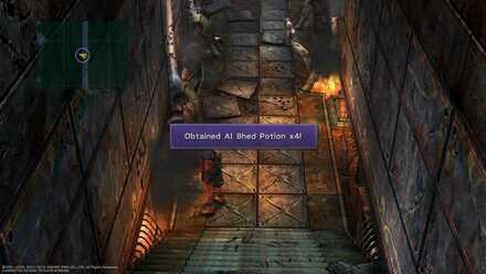 FFX Final Fantasy X Obtainable Items Chapter 9 Bikanel Island Al Bhed Potion x4