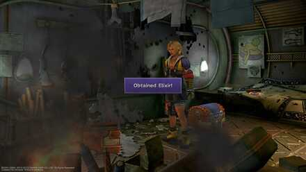 FFX Final Fantasy X Obtainable Items Chapter 9 Bikanel Island Al Bhed Chest