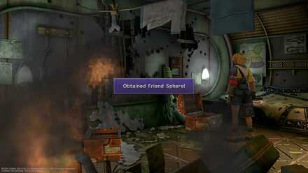 FFX Final Fantasy X Obtainable Items Chapter 9 Bikanel Island Friend Sphere