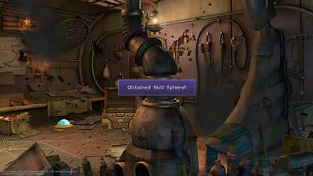 FFX Final Fantasy X Obtainable Items in Bikanel Island Skill Sphere.