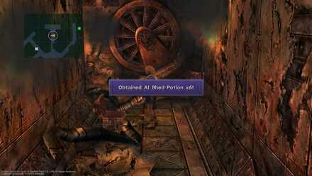 FFX Final Fantasy X Obtainable Items Bikanel Island Al Bhed Potion x6
