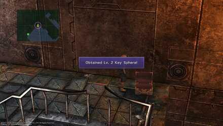 FFX Final Fantasy X Obtainable Items Bikanel Island Lv. 2 Key Sphere