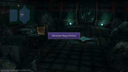 FFX Final Fantasy X Obtainable Items Via Purifico Mega-Potion