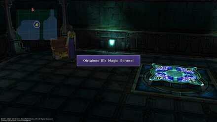 FFX Final Fantasy X Obtainable Items Via Purifico Blk Magic Sphere