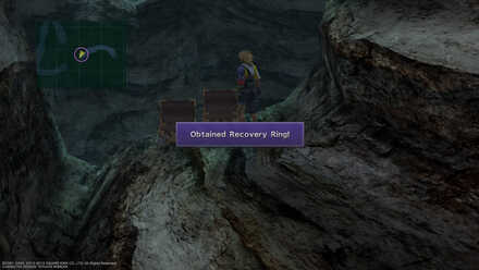 FFX Final Fantasy X Gagazet Cave Obtainable Items Recovery Ring
