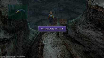 FFX Final Fantasy X Gagazet Cave Obtainable Items Return Sphere