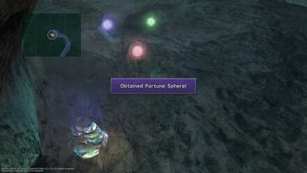 FFX Final Fantasy X Gagazet Cave Obtainable Items Fortune Sphere