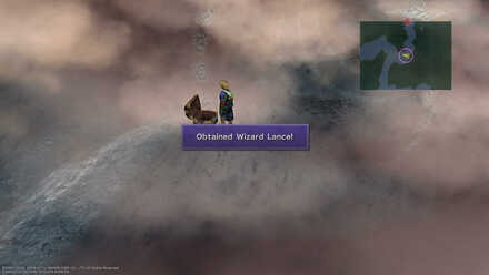 Final Fantasy X FFX Obtainable Items Sin Sea Wizard Lance