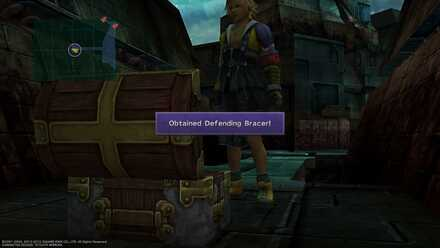 Final Fantasy X FFX Obtainable Items Sin City Defending Bracer