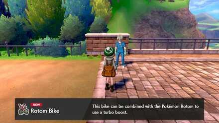Rotom Bike 1