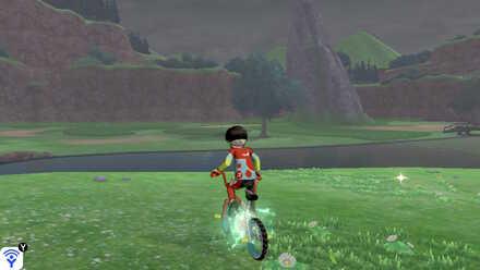 Rotom Bike Turbo Function