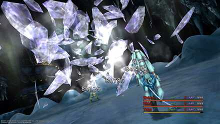 FFX Dark Shiva Diamond Dust