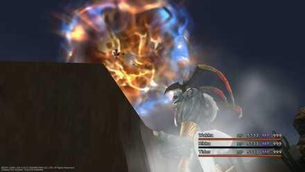 FFX Dark Ifrit Hellfire