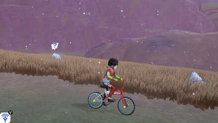 Whistling While Riding the Rotom Bike