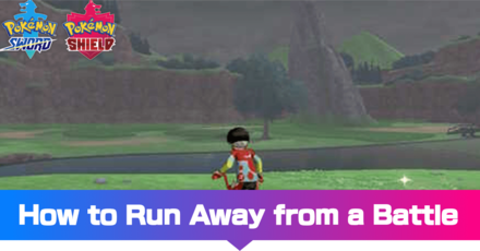 How to Run Away from a Battle