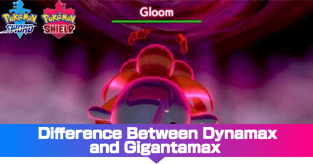 Difference Between Dynamax and Gigantamax