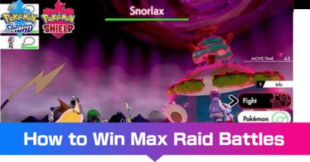 Max Raid Battles