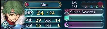 Alm Stats