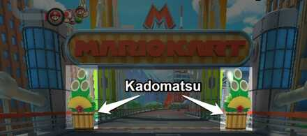 How To Hit A Kadomatsu With An Item Mario Kart Tour Game8