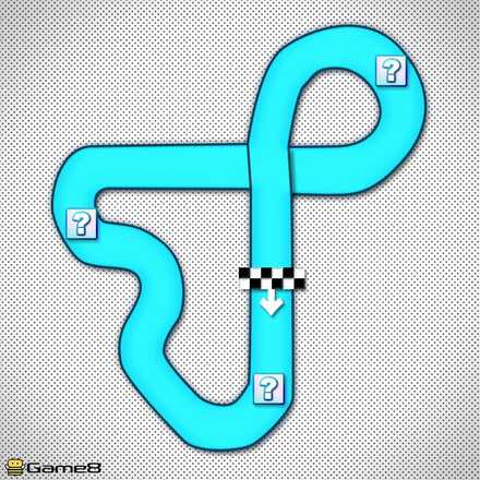 Toad Circuit R/T Shortcut Map