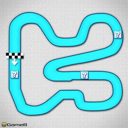 Mario Circuit 3R Shortcut Map