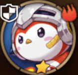Fire-Headed Penguin