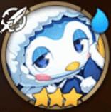 Winter Fragment Penguin