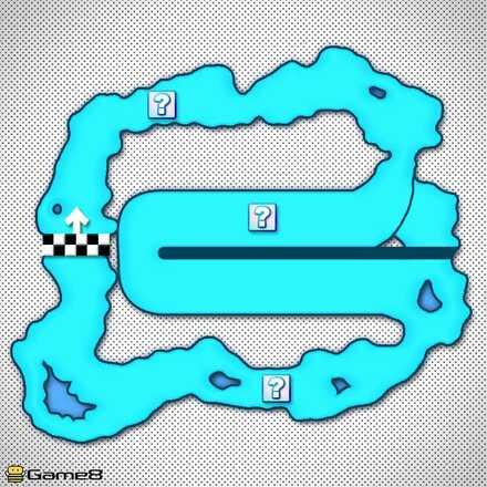 Vanilla Lake 1T Shortcut Map