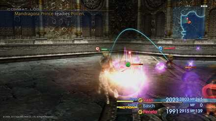 FF XII Mandragoras boss fight